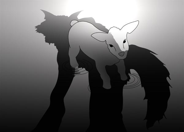 le loup et l'agneau plan commentaire