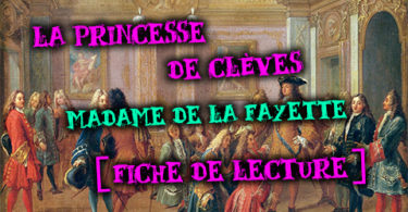 la princesse de clèves madame de La Fayette