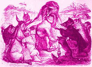 les animaux malades de la peste la fontaine