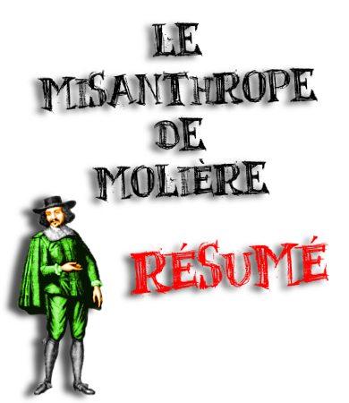 le misanthrope molière résumé