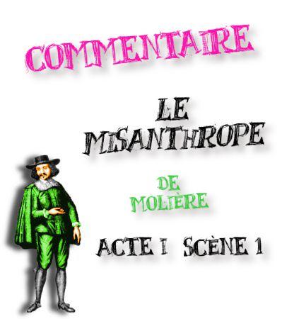 le misanthrope acte 1 scene 1