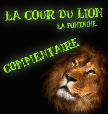 la cour du lion lecture analytique