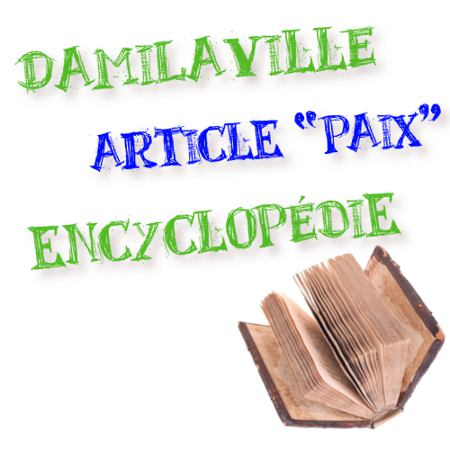 article paix damilaville