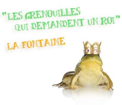 les grenouilles qui demandent un roi la fontaine