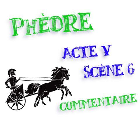 phèdre acte 5 scène 6 tirade de théramène