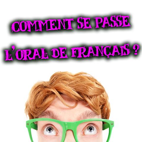 présentation de l'oral de français