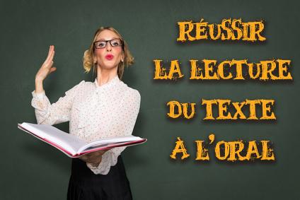 lire le texte à l'oral