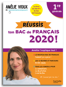 amélie vioux livre réussis ton bac de français 2020