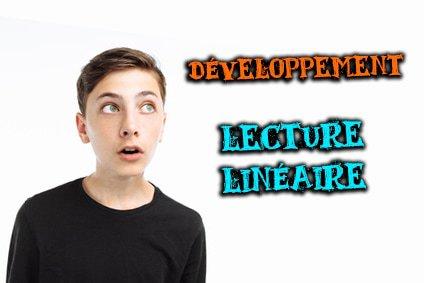 développement de l'analyse linéaire