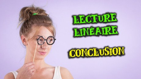 analys linéaire conclusion