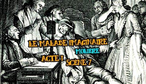le malade imaginaire acte I scène 7