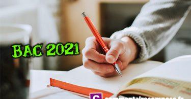 épreuves anticipées de français 2021 aménagements